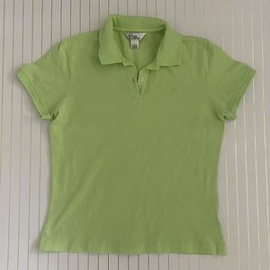 Cute Light Green Lilly Pulitzer Polo